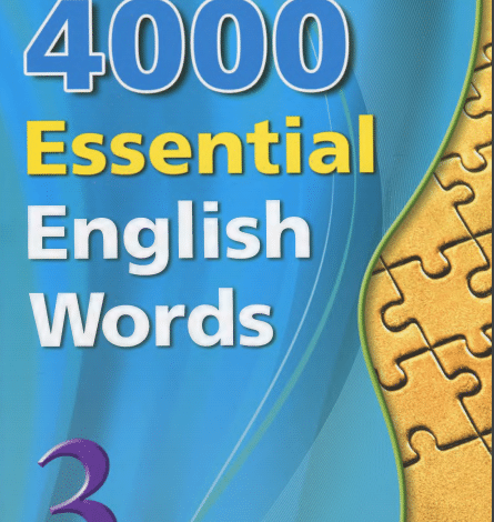 Photo of 4000 3-Essential English Words