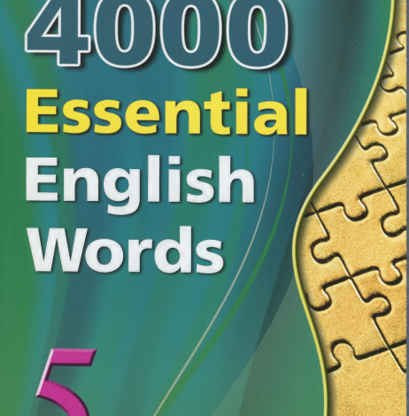 Photo of 4000 5-Essential English Words