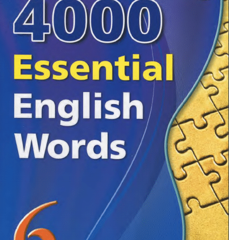 Photo of 4000 6-Essential English Words