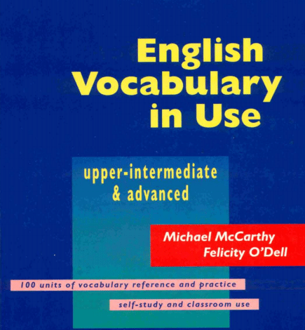 Photo of English vocabulary in use PDF