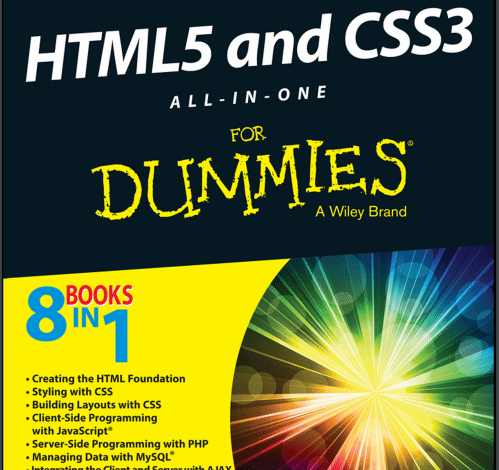 Photo of كتاب HTML5 and CSS3